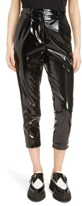 N°21 N21 N?21 Patent Crop Trousers