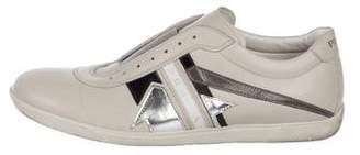 Prada Sport Laceless Leather Sneakers