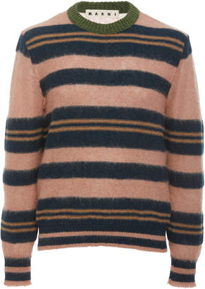 Marni Striped Crewneck Sweater