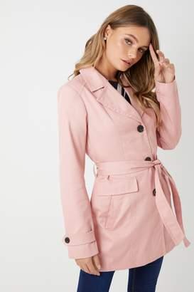 Next Womens Vero Moda Petite Trench Coat