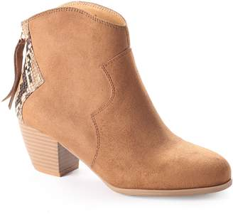 DOLCE by Mojo Moxy Naples Women's Ankle Boots