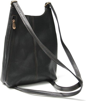 Royce Leather Vaquetta Sling Backpack
