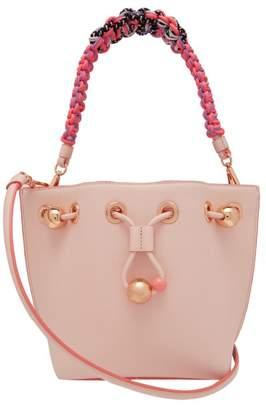 Com Sophia Webster Romy Mini Leather Bucket Bag Womens Light Pink