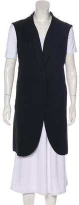 Chloé Knee-Length Button-Up Vest
