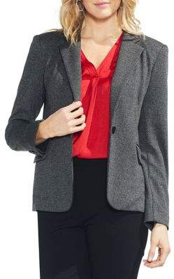Vince Camuto Herringbone Tailored Blazer