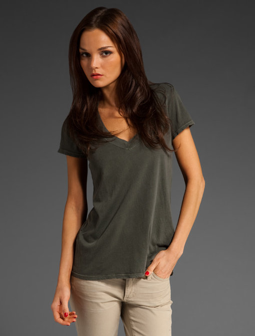 James Perse Classic Relaxed Casual V Tee