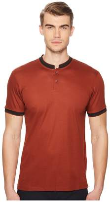 The Kooples Polo with Stand-Up Officer Collar