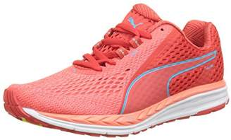 Puma Women's Speed 500 Ignite 2 Multisport Outdoor Shoes, (Poppy Red-Nrgy Turquoise 01)