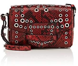 Dries Van Noten Women's Snake-Embossed Leather Small Crossbody Bag