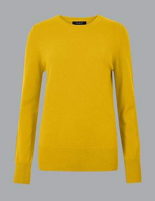 Marks and Spencer Pure Cashmere Round Neck Jumper