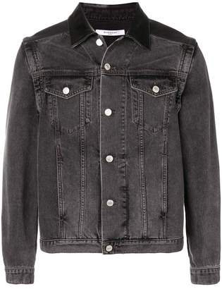 Givenchy slim fit denim jacket