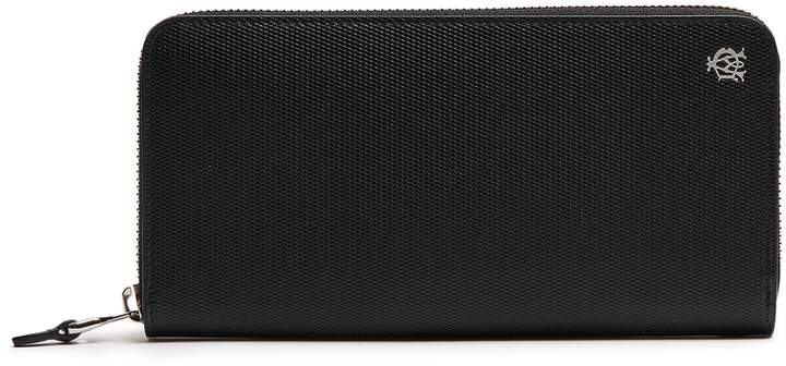 Alfred DunhillDUNHILL Engine Turn leather continental wallet