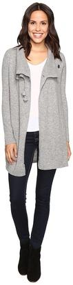Christin Michaels Sophia Toggle Cashmere Sweater $299 thestylecure.com