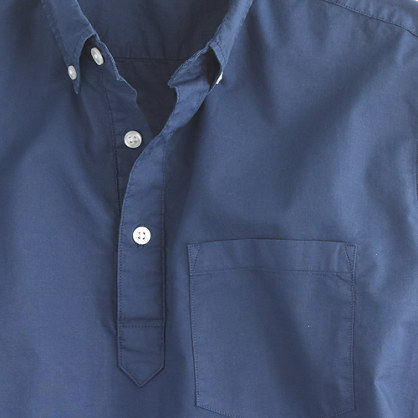 J.Crew Lightweight garment-dyed popover