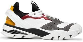 Calvin Klein White Carlos 10 leather sneakers