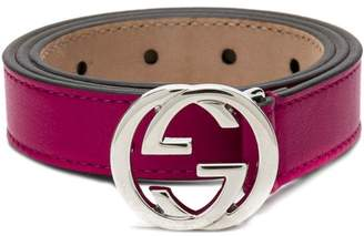 28fdebc8b5a Gucci Kids interlocking G buckle belt