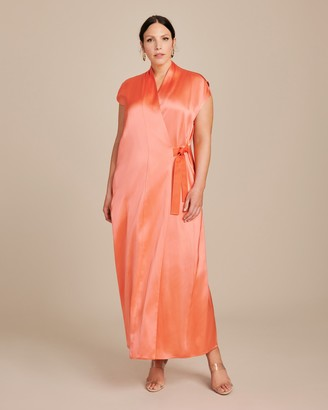 Zero Maria Cornejo Tasmeen Wrap Dress