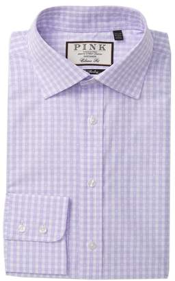 Thomas Pink Gingell Check Classic Fit Dress Shirt