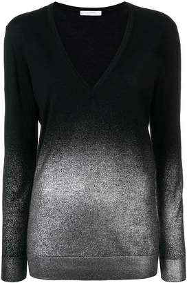 Versace V-neck lightweight jumper