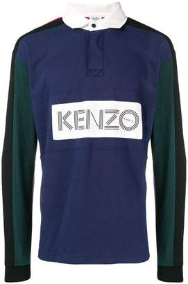 Kenzo logo polo shirt