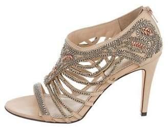 Jean-Michel Cazabat Cheri Chain-Link Sandals