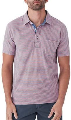 Faherty Indigo Polo Shirt - Men's