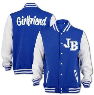 Justin Bieber BANG TIDY CLOTHING Women's JB Fever Girlfriend Inspired College Varsity Jacket