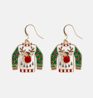 Avenue Ugly Sweater Drop Earrings