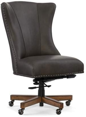 Bay Cain Home Office Leather Chair