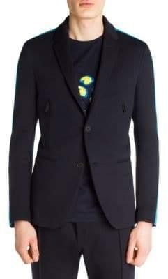 Fendi Athletic Knitted Coat