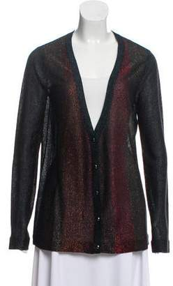 Marc by Marc Jacobs Metallic Button-Up Cardigan w/ Tags