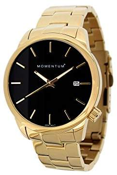 Momentum Women's 'Logic Collection' Quartz Steel and 14K and Gold Plated Casual Watch(Model: 1M-SP13B0)