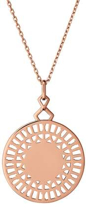 Links of London Timeless Engraved Pendant Necklace