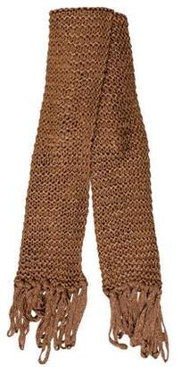 Rag & Bone Metallic Chunky Knit Scarf