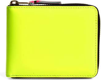 Comme des Garcons Super Fluorescent Leather Line A Wallet