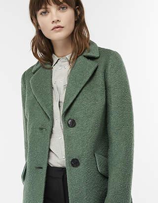 Lizzie Boucle Coat