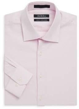Saks Fifth Avenue Classic-Fit Cotton Dress Shirt