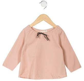 Babe & Tess Girls' Bow-Tie Shirt w/ Tags