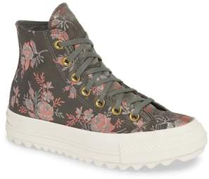 Converse Chuck Taylor(R) All Star(R) Lift Ripple Parkway Floral High Top Sneaker