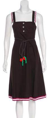 Sonia Rykiel Sonia by Crocheted Midi Dress