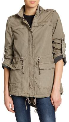 Levi's Hi-Lo Hooded Military Jacket