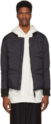 Isaora SSENSE Exclusive Black Down Zionic Bomber Jacket