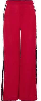 Walter W118 By Baker Striped Crepe Wide-Leg Pants