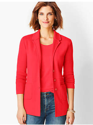 Talbots Merino Sweater Jacket