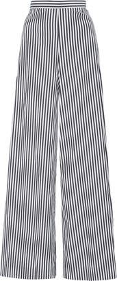 MDS Stripes Exclusive Cotton Palazzo Pants