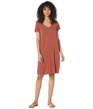 Michael Stars Cotton Modal Cassandra Tee Dress