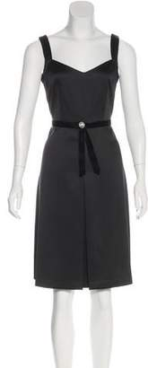 Laundry by Shelli Segal Sleeveless Knee-Length Dress