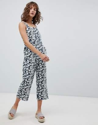 Suncoo Printed Broderie Jumpsuit