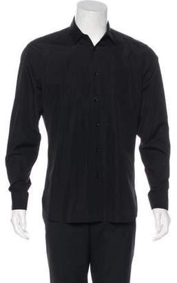 Saint Laurent 2016 Woven Dress Shirt