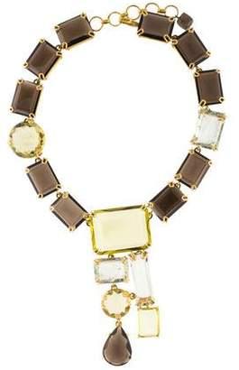 Bounkit Multistone Collar Necklace